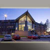 Whitworth University Residence Hall-west exterior